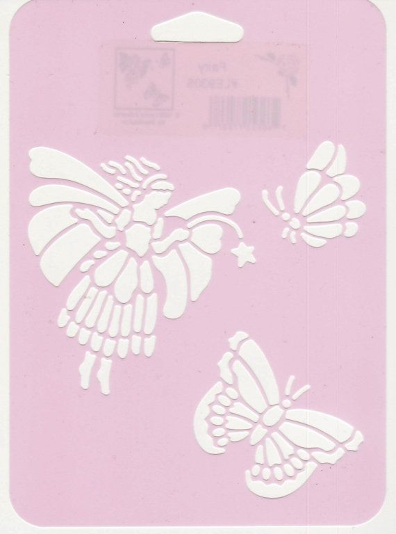 Fairy And Butterfly Stencils : Best butterfly images on pinterest stencil