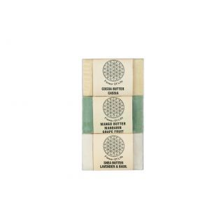 Flower of Life Body Butter Soap Pack