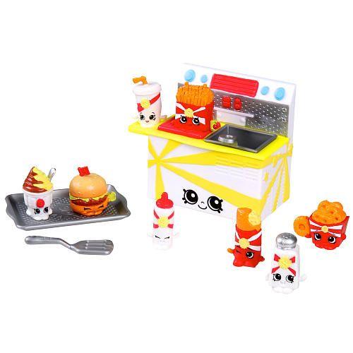 "Shopkins™ Season 3 Food Fair - Fast Food Collection 8 Pack - Moose Toys - Toys ""R"" Us"