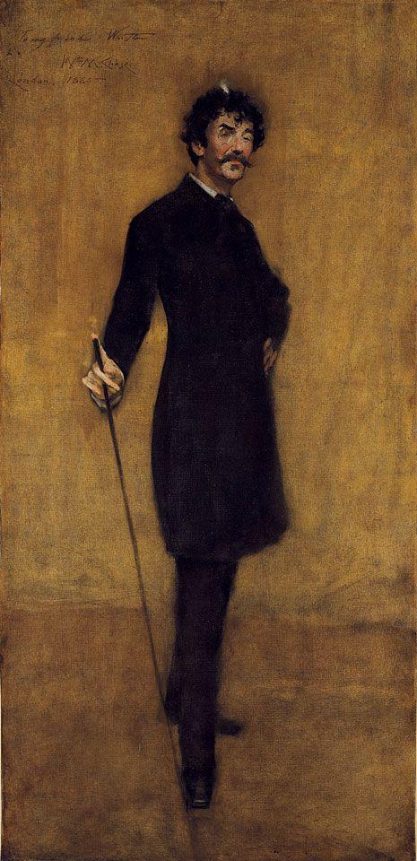 James McNeil Whistler - Portrait William Merritt Chase