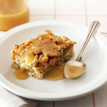 Rosemary Ward's Apple Cake with Butter Rum Sauce | Recipe
