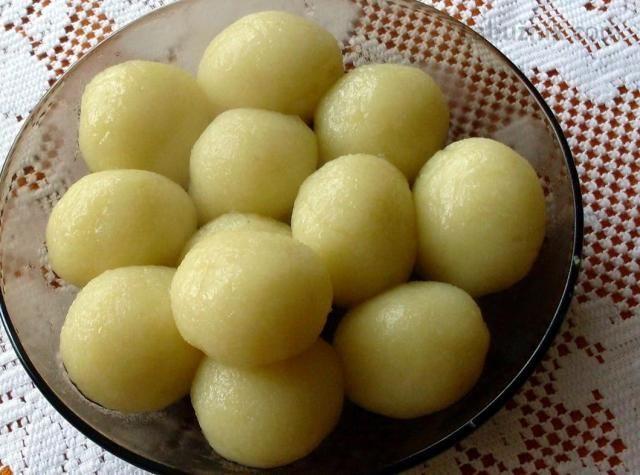 Bezlepkové bramborové knedlíky