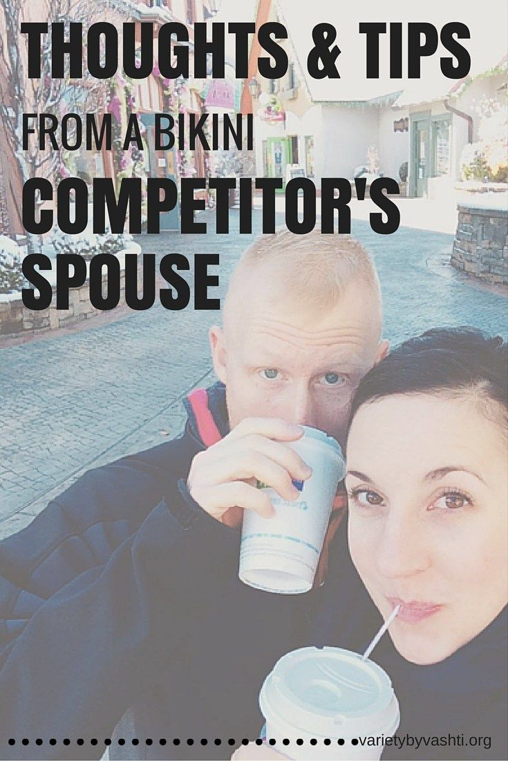 What's it like for the spouse of a competitor? Do they deal with mood swings? How do they support their spouse during prep? Do they ever feel jealous? My husband shares his thoughts!