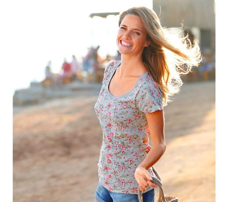 Potištěné tričko s krátkými rukávy | blancheporte.cz #blancheporte #blancheporteCZ #blancheporte_cz #summer #spring #wear