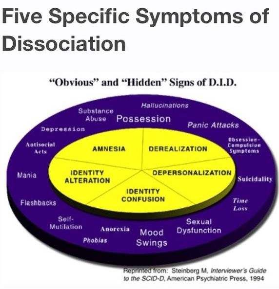 split personality disorder research paper