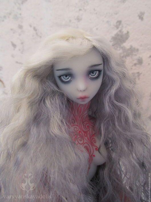 Коллекционные куклы ручной работы. Шарнирная кукла, БЖД, Аннабель Ли. Варвянская Алина (Sarasvati). Ярмарка Мастеров. girl ghost