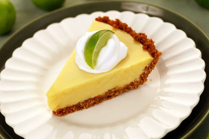 2nd recipe try at Key Lime Pie - this one was good, a bit sour for my 4 year old. We skipped the cream.