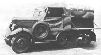 Quite common variant was wz. 34 workshop car.