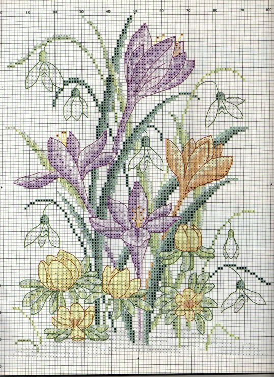Gallery.ru / Фото #7 - Cross Stitch Collection 100 январь 2004 - tymannost