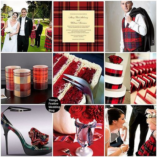 this Tartan plaid wedding (also: personalized chocolaaate printables! $7.00 www.customweddingprintables.com)