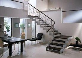 Escaleras interiores metalicas