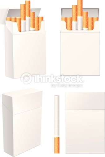 Vektorgrafik : Cigarette pack