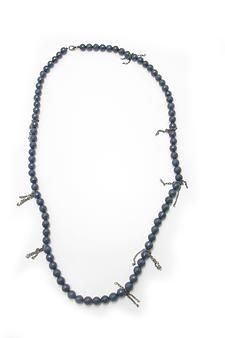 Blue Jade Moonstone Necklace