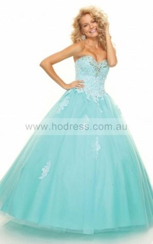 Tulle Sweetheart Natural Ball Gown Floor-length Bridesmaid Dresses 0190304--Hodress