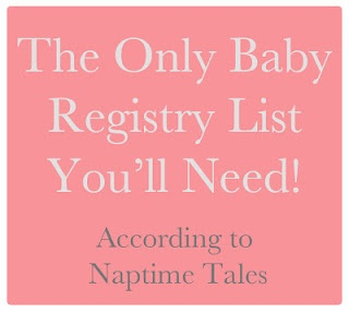 Wow... a HUGE list of everything you need for baby. The only list you'll need!