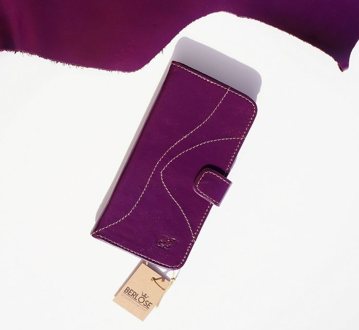 Book Wallet Etui Phone Cover Case Cell phone Genuine Leather | eBay
