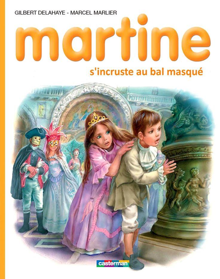 Martine s'incruste au bal masqué