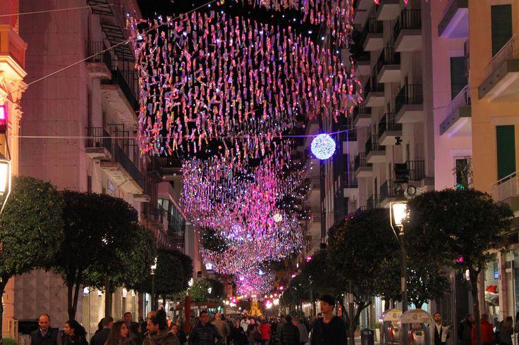 Salerno, Luci d'Artista   www.livesalerno.com  #lucidartista #lucidartista2015 #salerno #luminarie #luminariesalerno #lucidartistasalerno #mercatinidinatale #christmas #christmasmarket #Natale