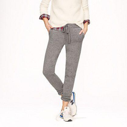 Collection cashmere sweatpant - j.crew cashmere - Women's Women_Special_Shops - J.Crew