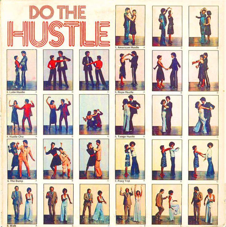 Do The Hustle… 1970s dance instruction.