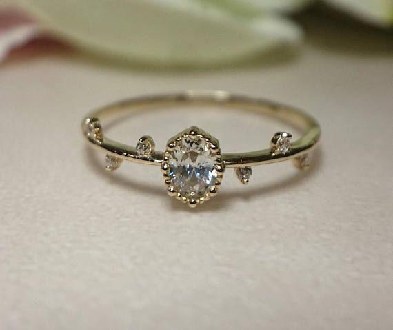 M s de 25 ideas incre bles sobre anillos de compromiso delicados en pinterest anillos de - Anillos de compromiso sencillos ...