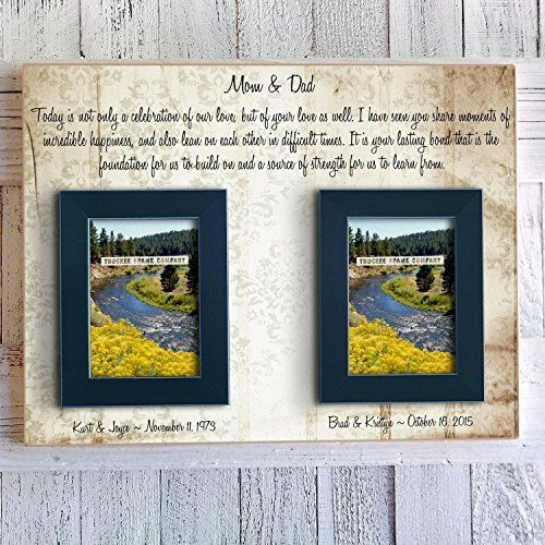 Personalized Handmade Two Picture Frame – Wedding Gifts For Friends