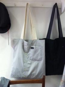 #Upcycling Shirt Tote Bags