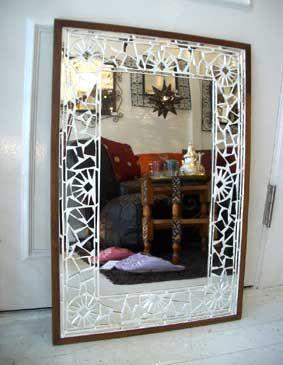 GADAN > インテリア・家具 > ミラー > モザイクミラー Lホワイト