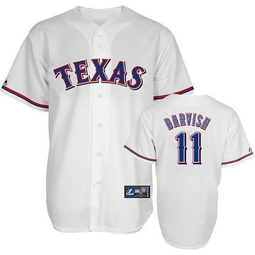 Yu Darvish Texas Rangers Youth Majestic Player Replica Jersey