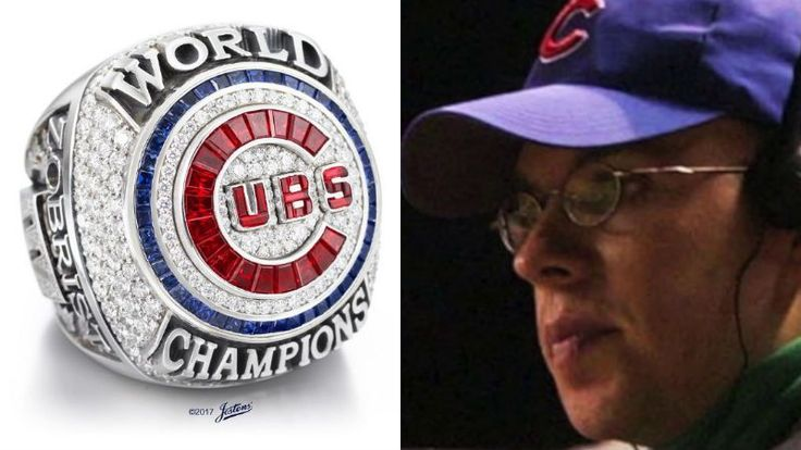 Steve Bartman to receive 2016 Chicago Cubs World Series Championship ring