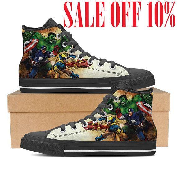 838dec2c01d3 Infinity War Converse Shoes