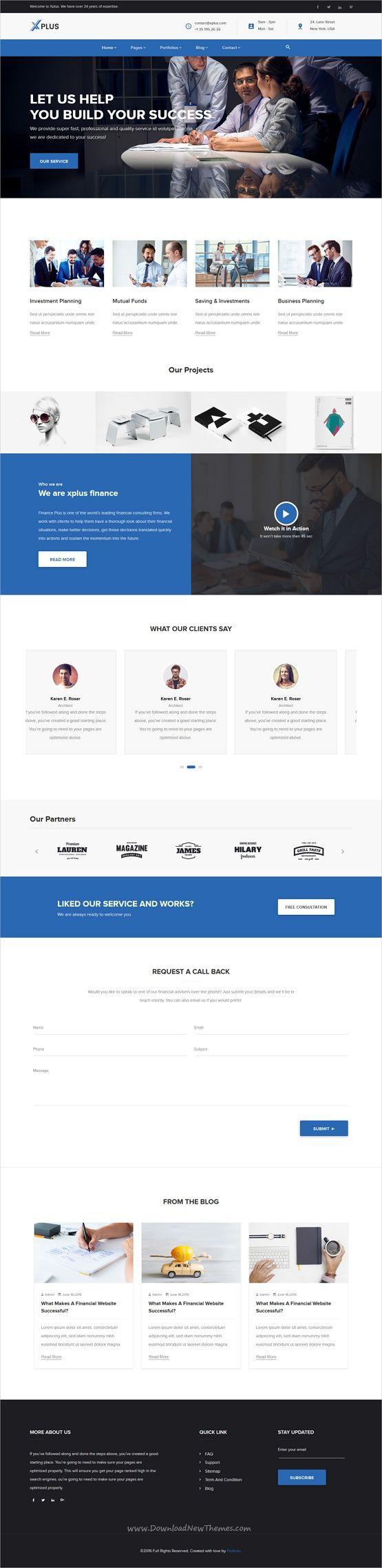60 migliori immagini best instapage template su pinterest for Siti web di progettazione architettonica gratuiti