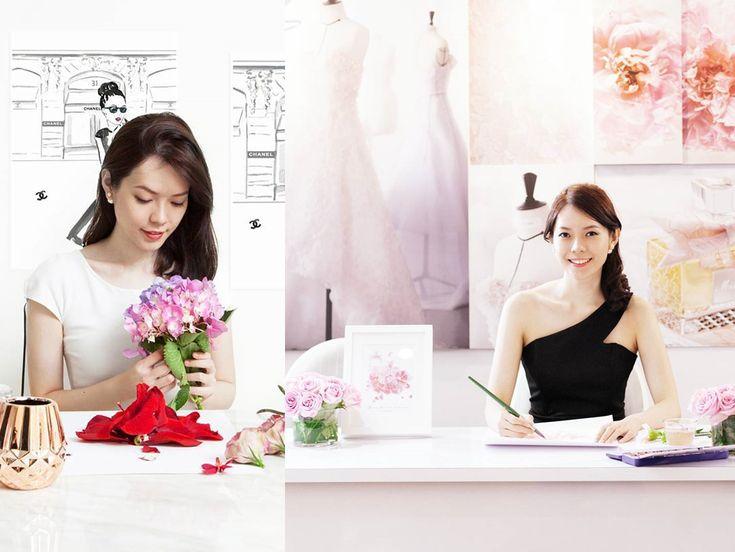 grace ciao ilustrações de moda com flores não combina blog