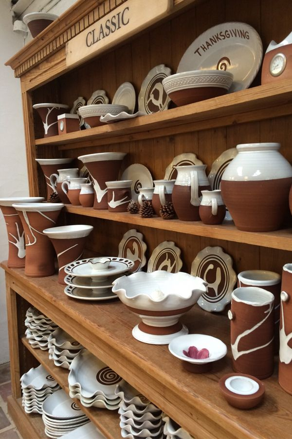 Classic range by Stephen Pearce Pottery.