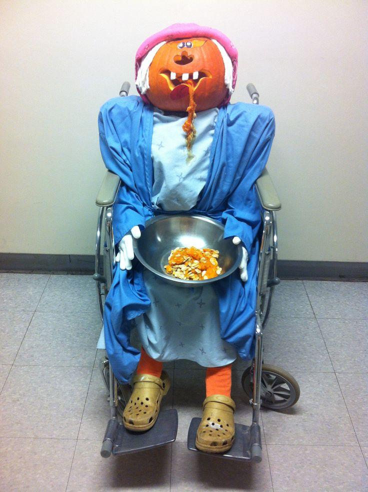 Hospital pumpkin contest housekeeping dept st francis