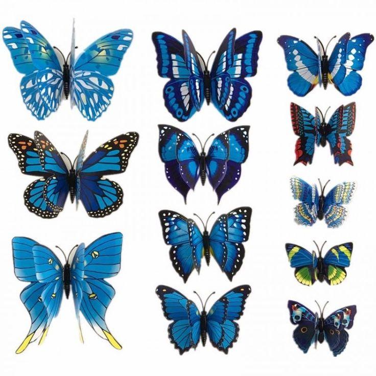 Обыграйте красиво Вашу коллекцию бабочек, как будто они впорхнули к вам в комнату через дверь или окно и кружат на стене или под потолком. Как правило, такие композиции добавляют романтики в интерьер спальни.  Все что Вам нужно, это заказать у нас упаковку бабочек, распаковать и приступить к составлению своей уникальной композиции.
