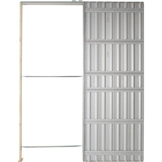 Systeme Galandage Chassis Plein Scrigno Pour Porte De Largeur 83 Cm Porte Coulissante Porte Galandage Portes