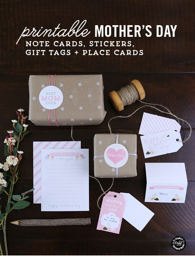 Elegance and Enchantment Mothers Day Printables