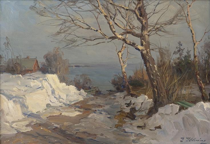 Even Ulving 1863-1952: Wessmans vei Aasgaardstrand