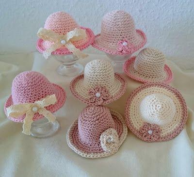 Diese hübschen Vintage Eier-Hüte oder auch Eierwärmer sind nicht nur für Ost… – Sonja M.