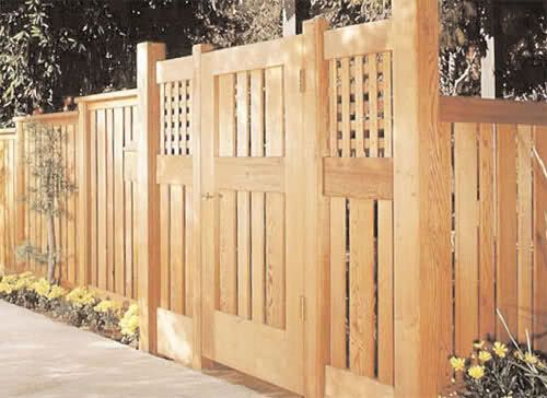 Wooden fence gate designs free woodworking projects plans