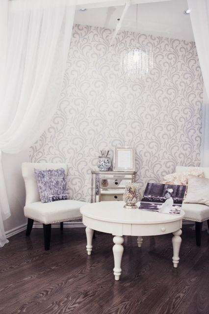 Reception Area @ #brushboutique #hair&makeup #bridalhair&makeup