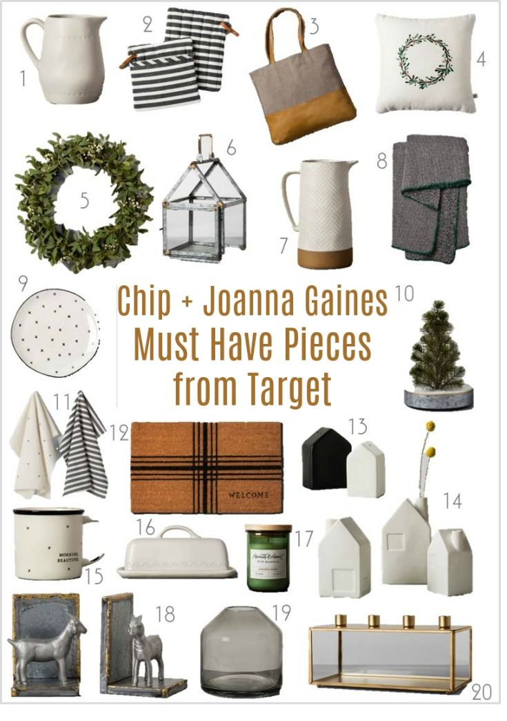 Magnolia By Chip Joanna Gaines Must Have Pieces From Target Industrial FarmhouseIndustrial