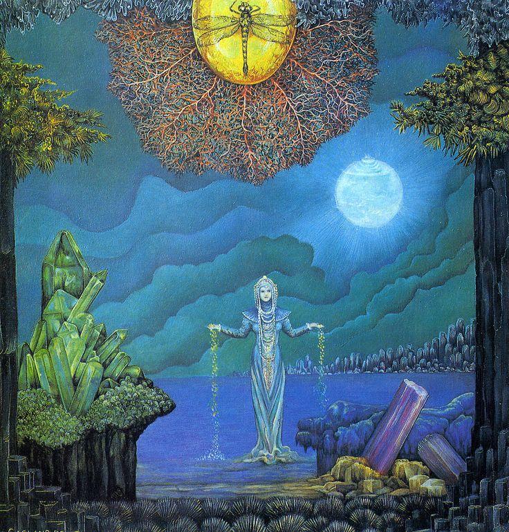 Goddess of Precious Stones by Linda and Roger Garland