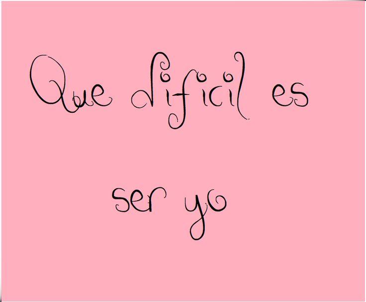 """""""Que difícil es ser yo"""" La palabras de Mia Colucci describen mi vida...jajaja. Extraño Rebelde (RBD)."""