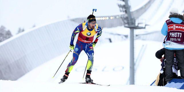 Biathlon : le Français Martin Fourcade sacré champion du monde de sprint