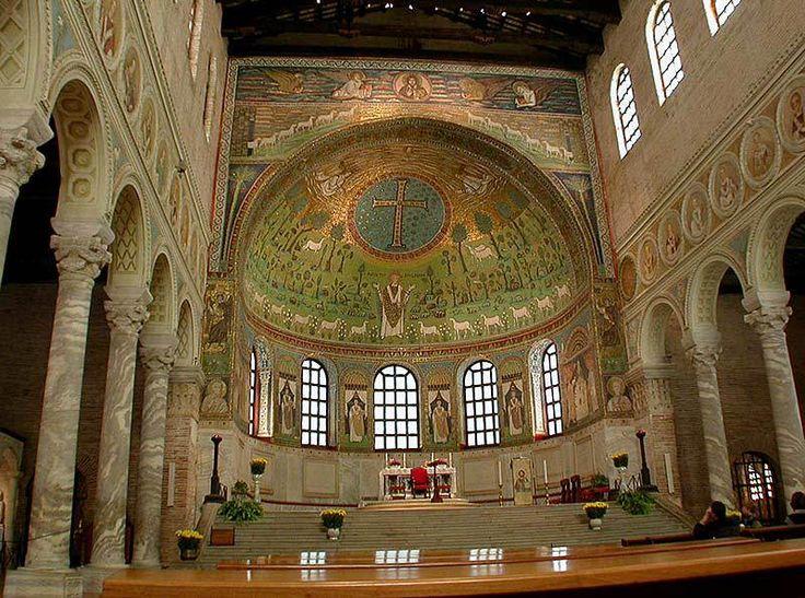 apsyda z dekoracjami mozaikowymi, San Apollinare in Classe