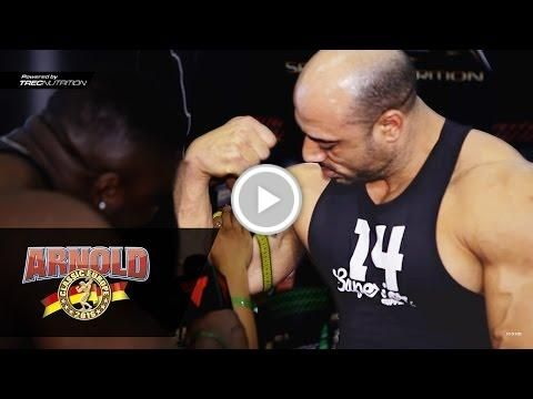 ???????????? The biggest biceps at Arnold Classic Europe Expo 2016 | Spain