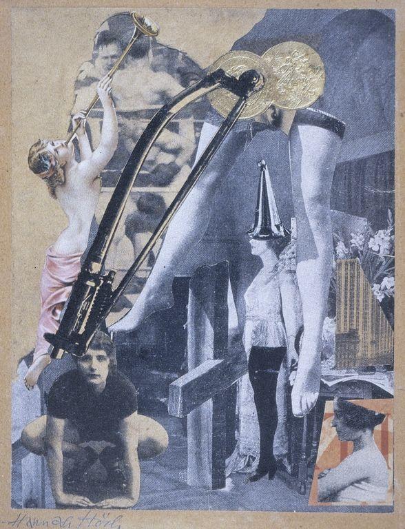 Dada Ernst, Hannah Hoch, 1920-21