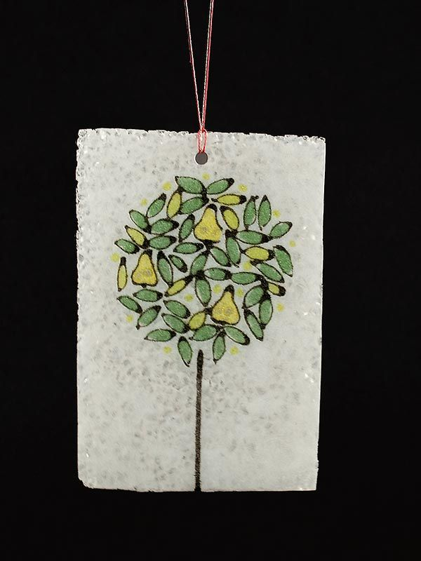 Junction Art Gallery - Glass Tree Decoration
